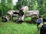 WW II wreck