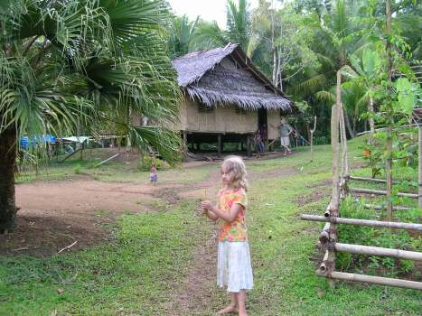 Alyssa in the village