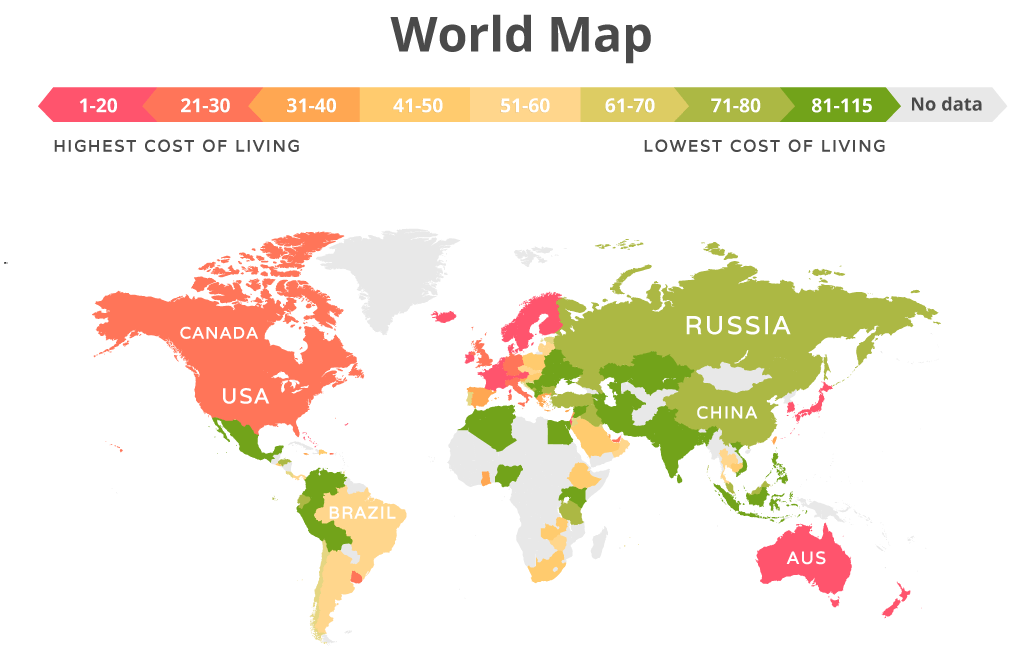 cost of living infographic nov 2020